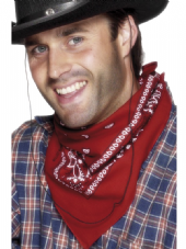 Wild West Bandana In Red